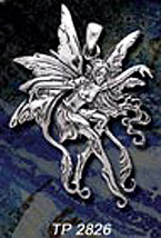 Amy Brown fairy pendant