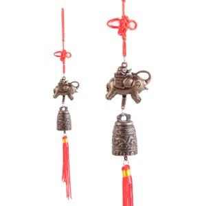 chinese elephant good luck feng shui bell