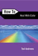 how to healing with color chakra healing book