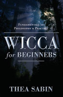 Thea Sabin Wiccan for Beginners book
