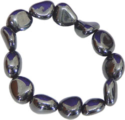 hematite bracelet for protection and crystal healing