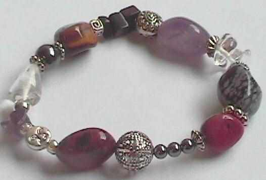 crystal healing jewelry - protection bracelet