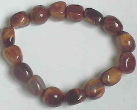 tigere eye bracelet for healing the root chakra