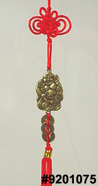 Chinese feng shui Buddha blessing hanger