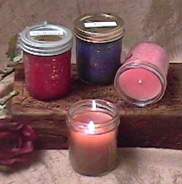 sandalwood scented soy candles
