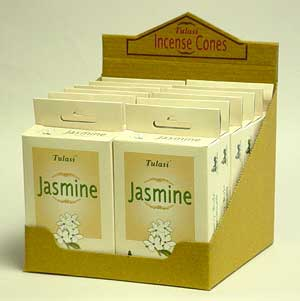 imported Tulasi incense cones - jasmine incense cones