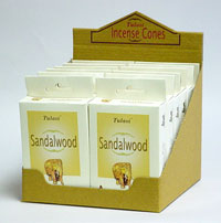 imported Tulasi incense cones - sandalwood incense cones
