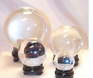 real quartz crystyal balls for sale