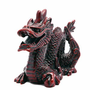feng shui good luck dragon figurine chinese feng shui dragon