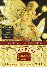 healing with the fairies cards by Doreen Virtue - angel cards by Doreen Virtue for spiritual guidance