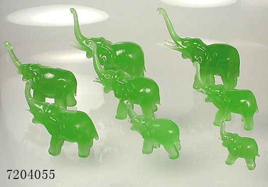 Chinese jade elephant for feng shui