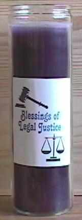 legal justice spell candle for candle magic