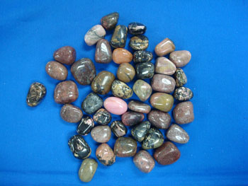 rhodonite for crystal healing and chakra balancing