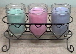 richly scented jar candles